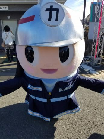 女子栄養大学 カッピィ 消防服01